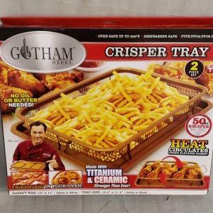 NWB. Gotham steel crisper tray